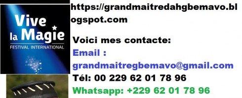 LE PUISSANT CAHIER MYSTIQUE DES CIEUX DU MARABOUT GBEMAVO +229 62 01 78 96